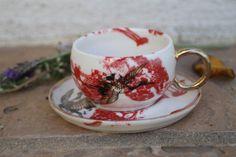 Espresso Cup handmade ceramic espresso cup by ManuelaMarinoCeramic
