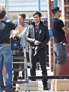 Colin O'Donoghue and Sean Maguire - Behind the scenes- 5 * 5 - 21 August 2015