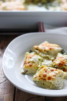 Spinach and Artichoke Ravioli Bake
