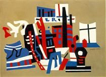New York Waterfront - Stuart Davis