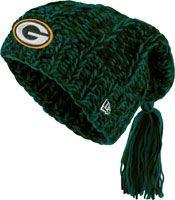 Green Bay Packers Women's New Era Winter Slouch Knit Hat