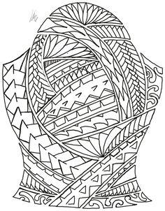 Polynesian Tattoos Women, Polynesian Tattoo Designs, Polynesian Tribal, Maori Tattoo Designs, Body Art Tattoos, Tribal Tattoos, Back Tattoos For Guys, Sick Tattoo, Angel Sculpture