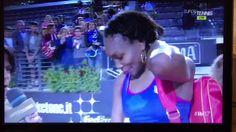 Vee Wins Rome Opener!... def. Yaroslava Shvedova in straight sets...Venus Williams speaking Italian 😍 Via Jada...5/16/17