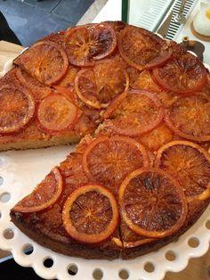Gateau orange de chez marcelle resto paris montorgueil