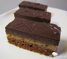 Czech Recipes, Oreo Cupcakes, Sweet Desserts, Food Hacks, Nutella, Cheesecake, Food And Drink, Cooking Recipes, Sweets