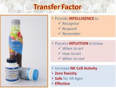 Why transfer factor is the best you can get for your family..
