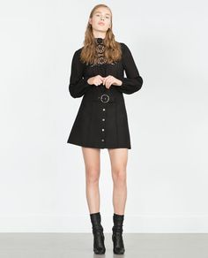 Image 1 of A-LINE MINI SKIRT from Zara