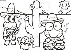 649 best Hello Kitty Coloring Pages Printables images on