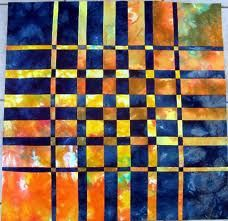 bold colors-convergence quilt
