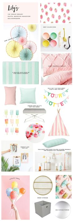 Pastel Bedroom Makeover from Deluxemodern Design More