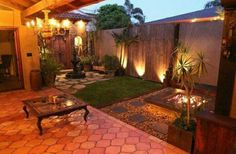 Numerous homeowners are looking for small backyard patio design ideas. Those designs are going to be needed when you have a patio in the backyard. Many houses have vast backyard and one of the best ways to occupy the yard… Continue Reading → Small Backyard Gardens, Backyard Patio Designs, Small Backyard Landscaping, Backyard Projects, Landscaping Ideas, Small Patio, Pergola Ideas, Small Backyards, Pergola Kits