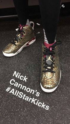 huge discount 14c87 76af9 Nick Cannons heat AllStarKicks