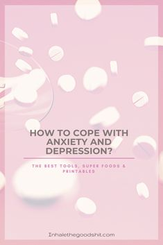 How To Cope With Anxiety & Depression? Are you struggling with depression or anxiety? In this post I've listed amazing tools for you that will help you cope better! Mental Health Problems, Mental Health Matters, Mental Health Awareness, Negative Self Talk, Negative Thoughts, Anxiety Relief, Stress And Anxiety, Building Self Esteem, Ways To Reduce Stress