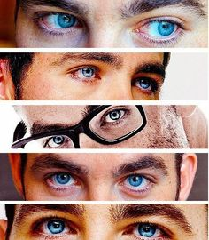 I'm telling you...Chris Pine has the bluest blue eyes ever!