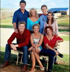 McLeods Daughters - Nick, Alex, Tess, Jodi, Stevie, Dave, Kate