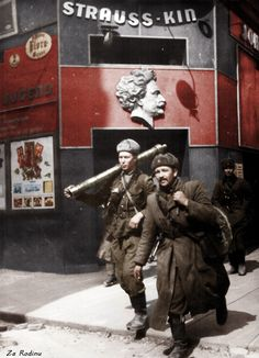 Soviet soldiers in Vienna 1945 | Flickr - Photo Sharing!