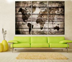 Canvas prints add a unique touch to your home. Modern, stylish and unique design will be the most special piece of your decor. Especially for those who like abstract works, black and white acrylic painting can be prepared in desired sizes  Large canvas art abstract canvas print, world map wall art canvas, Modern wall decoration, old world map art wall home decor No:7S69   i designed the watercolor map on photoshop. you will receive high resulation canvas print   ◆ GALLERY WRAPPED CANVASES We…