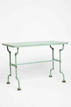 Rustic Pipe Table - Urban Outfitters My style! Pipe Furniture, Apartment Furniture, Furniture For You, Furniture Sale, Furniture Ideas, Pipe Table, Sofa Shop, Entryway Tables, Interior Decorating