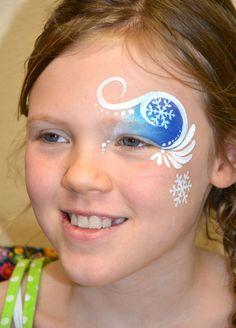 face painting frozen - Google Search Doll Face Paint, Doll Painting, Face Painting Tutorials, Face Painting Designs, Kids Makeup, Doll Makeup, Bodysuit Tattoos, Frozen Face Paint, Pumpkin Face Paint