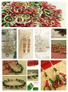 DIY Christmas Jewelry and Ornaments
