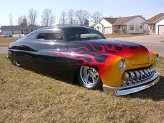 1949 Mercury lead sled.