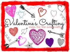 Drop-in Valentines Crafts