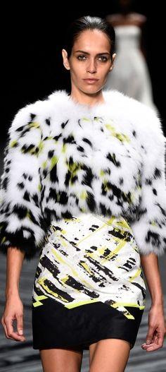 J. Mendel - 2015 Mercedes-Benz Fashion Week Bella Donna