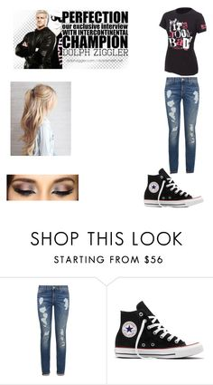 """First 'I Love You' (Dolph Ziggler)"" by ambrose1985 ❤ liked on Polyvore featuring WWE, Tommy Hilfiger and Converse"