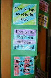 Subtraction Strategy - use this idea to teach beginning subtraction... start with all, take some away, what's left..