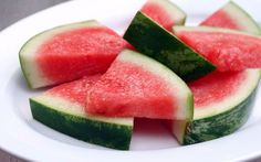 Tequila Soaked Watermelon Wedges- YUM!