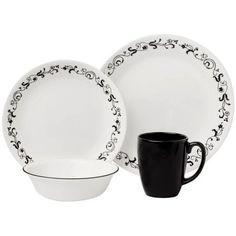 I have this beatiful Corelle Livingware Garden Getaway 16-Piece Dinnerware Set