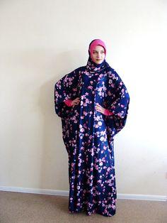 Ready to ramadan FloralMaxi Dress Plus Size, Prayer dress, Farasha Caftan, Boho dress,Muslim dress, abaya Dress,Modern hijab, Burqa