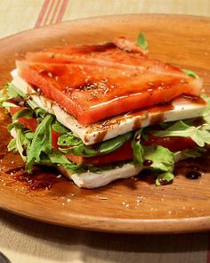 Sweet Paul presents My Happy Dish: Watermelon & Feta Terrine from Sel Magique via Sweet Paul  www.sweetpaulmag.com