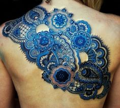 blue #tattoo