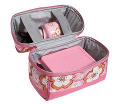Retro Mackenzie Girls' Lunch Bags   Pottery Barn Kids