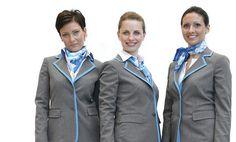 Air Dolomiti cabin crew new uniforms