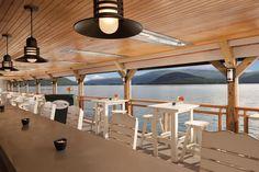 Bolton Landing - The Sagamore Resort Bolton Landing, Outdoor Tables, Outdoor Decor, Lake George, New York, Pavilion, Trip Advisor, Dining Table, Ceiling Lights