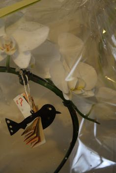 Cute! Gift money at Christmas making bird ornaments that have money wings