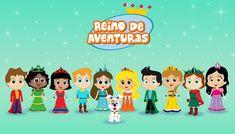Reino de Aventuras (Princesas da Bíblia) - Abertura / Cantinho da Crianç...