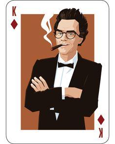 The King of Diamonds is Twin Peaks Entrepreneur Kingpin: Ben Horne...
