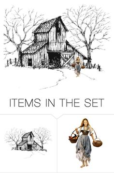 """Countryside"" by jojona-1 ❤ liked on Polyvore featuring art and country"