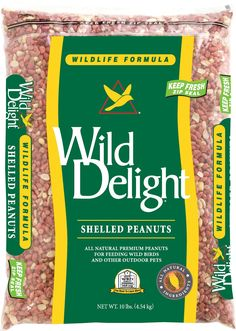 Wild Delight Wildlife Formula Shelled Peanuts