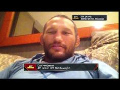 MMA Dan Henderson: I want to beat up Michael Bisping up for the whole fight - 'UFC Tonight'