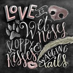 Dog Decor Dog Lover Gift Dog Quote Dog Art by TheWhiteLime on Etsy (Visited 1 times, 1 visits today) Dog Lover Gifts, Dog Gifts, Dog Lovers, I Love Dogs, Cute Dogs, Funny Dogs, Funny Puppies, Pet Sitter, Chalkboard Print