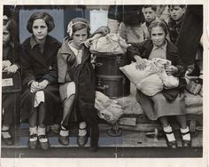 Basque child refugees in Southampton. 1937. Shots of War: Photojournalism During the Spanish Civil War. libraries.ucsd.edu