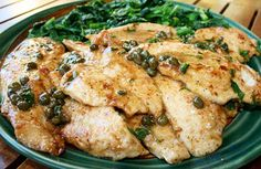 Italian Food Forever » Chicken Piccata....Try w/tilapia