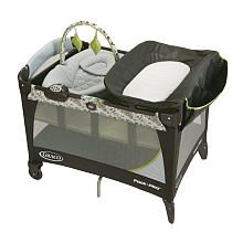 "Graco Pack 'n Play with Newborn Napper Station LX Play Yard - Caraway. Honestly we never bough a ""real"" crib because this was perfect for us"