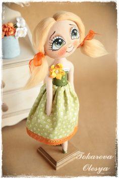 Коллекционные куклы ручной работы. Ярмарка Мастеров - ручная работа Наденька. Handmade.