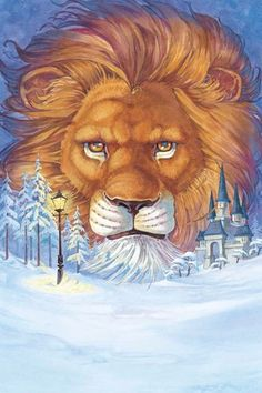 The Lion, the Witch and the Wardrobe by David Hohn #narnia #fanart