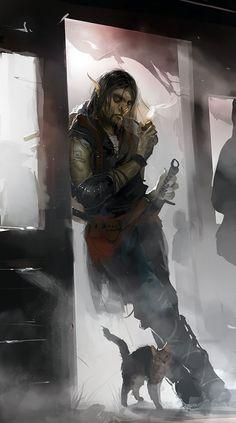 Dark Fantasy, Foto Fantasy, Fantasy Rpg, Medieval Fantasy, Fantasy Life, Dungeons And Dragons Characters, Dnd Characters, Fantasy Characters, Fantasy Warrior